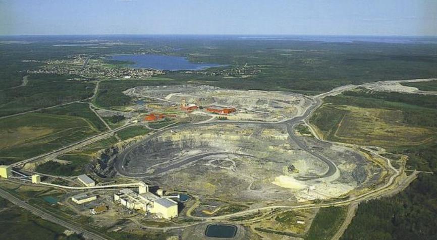 Mines Vermillon et Herrington Ontario
